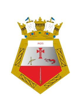 Distintivo do Navio-Patrulha Poti