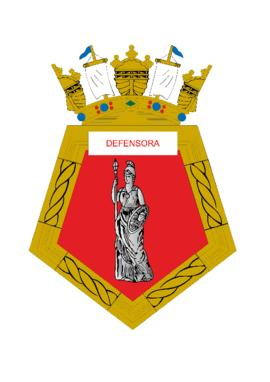 Distintivo da Fragata Defensora