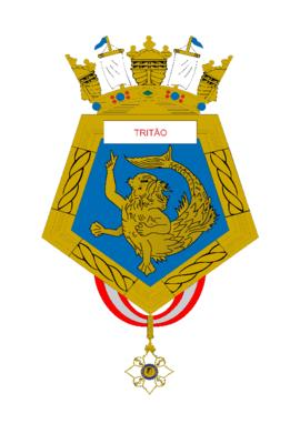 Distintivo do Rebocador de Alto-Mar Tritão