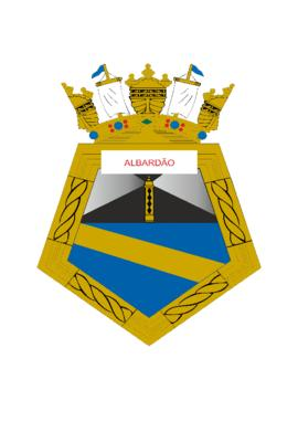 Distintivo do Navio-Varredor Albardão