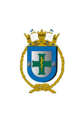 Distintivo do Hospital Naval de Belém