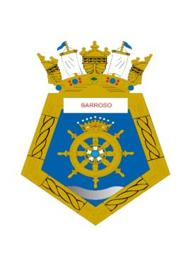 Distintivo da Corveta Barroso