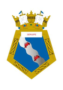 Distintivo do Contratorpedeiro Sergipe