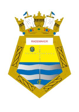 Distintivo da Fragata Rademaker