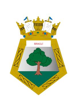 Distintivo do Navio-Patrulha Bracuí