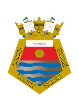 Distintivo do Navio-Patrulha Guarujá