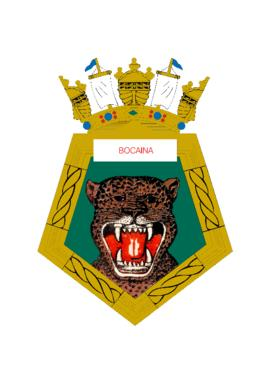 Distintivo do Navio-Patrulha Bocaina