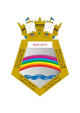 Distintivo do Navio-Patrulha Benevente
