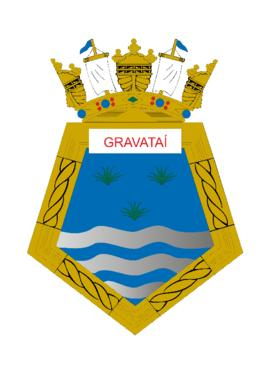 Distintivo do Navio-Patrulha Gravataí