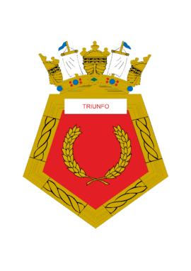 Distintivo do Rebocador de Alto-Mar Triunfo