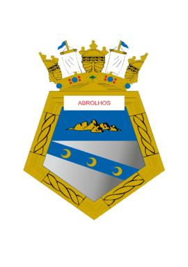 Distintivo do Navio-Varredor Abrolhos