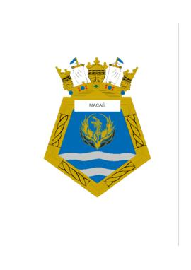 Distintivo do Navio-Patrulha Macaé