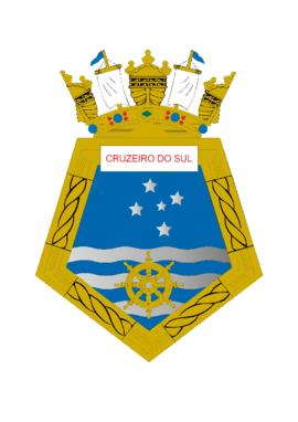Distintivo do Navio Hidroceanográfico Cruzeiro do Sul
