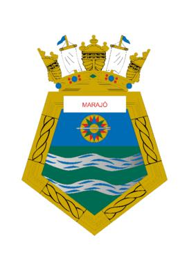 Distintivo do Navio-Tanque Marajó