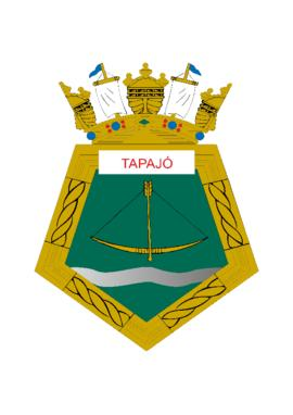 Distintivo do Submarino Tapajó