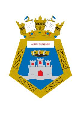 Distintivo do Navio-Transporte Fluvial Almirante Leverger