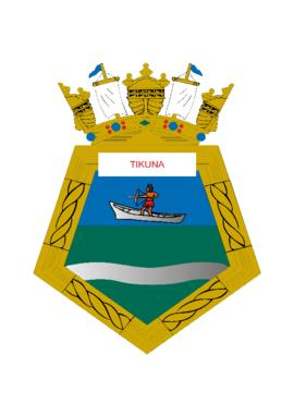 Distintivo do Submarino Tikuna