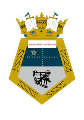 Distintivo do Navio Polar Almirante Maximiano