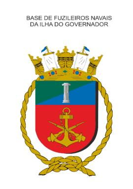 Distintivo da Base de Fuzileiros Navais da Ilha do Governador