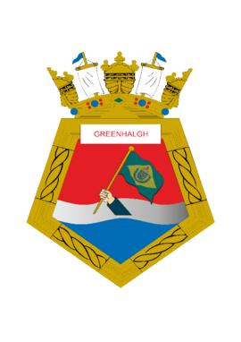 Distintivo da Fragata Greenhalgh